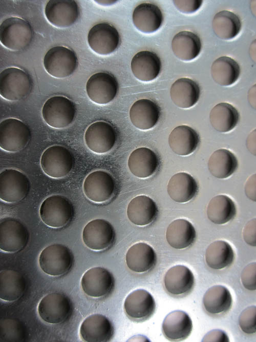 perforated metal mesh with round hole