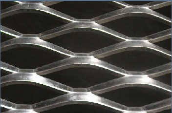 Galvanized Expanded Mesh